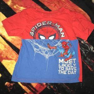 Marvel Spider-Man tee size 4 💕
